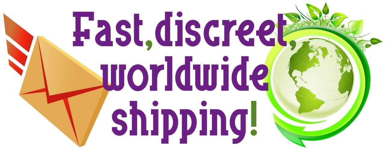 Fast Free Discreet Shipping Worldwide